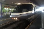 Disneyworld monorail