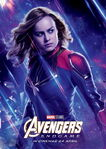 Endgame Internacional Character Poster (Captain Marvel)