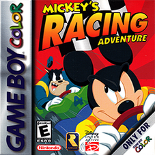 Mickey's Racing Adventure Coverart