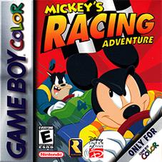 Mickey's Racing Adventure Coverart