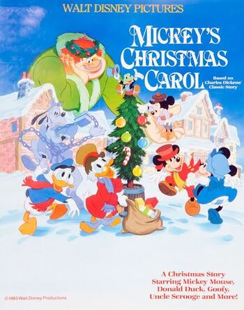Mickeys Christmas Carol Dvd.Mickey S Christmas Carol Disney Wiki Fandom Powered By Wikia