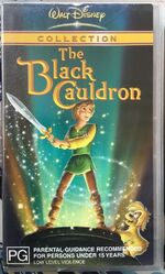 The Black Cauldron 2003 AUS VHS