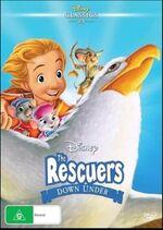 The Rescuers Down Under 2016 AUS DVD