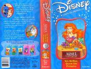 VHS - A Pequena Sereia Séries - Siri Melhor,Quem Siri Primeiro.