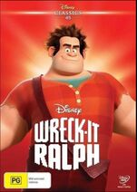 Wreck-It Ralph 2016 AUS DVD