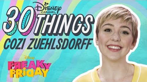 30 Things with Cozi Zuehlsdorff Freaky Friday Disney Channel