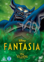 Fantasia Disney Villains 2014 UK DVD