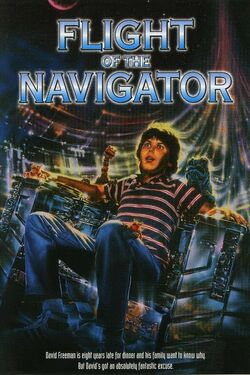 Flight of the Navigator Poster 2
