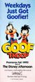 Goof Troop - Print Ad from 1992 Disneyland Guide