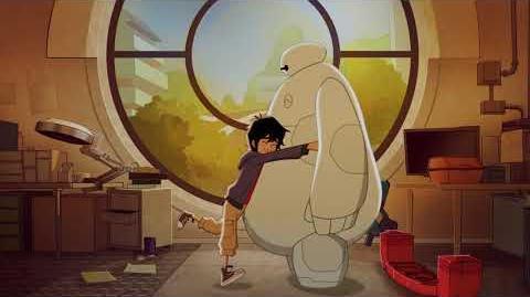 Hiro and Baymax Big Hero 6 The Series Disney XD