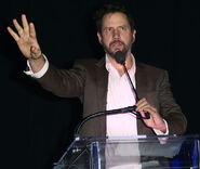 Jamie Kennedy speaks at LAPD PAAL Awards Gala