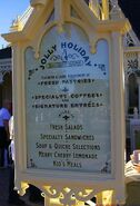 Jolly Holiday Bakery Cafe Outdoor Menu