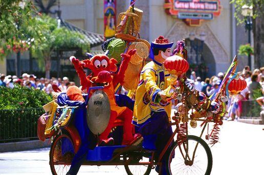 mulan parade disney wiki fandom powered by wikia
