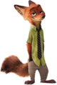 Nick Wilde Pose Render
