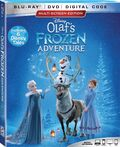 Olaf's Frozen Adventure Blu-Ray