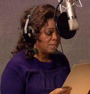Oprah Winfrey behind the scenes PatF