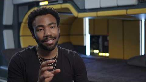 "SOLO Behind The Scenes ""Lando Calrissian"" Donald Glover Interview - A Star Wars Story"
