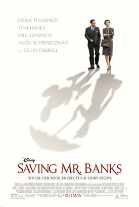Saving Mr. Banks Theatrical Poster