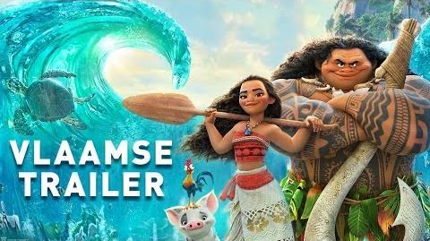 Vaiana Vlaamse Trailer met Laura Tesoro & Sean Dhondt Disney BE