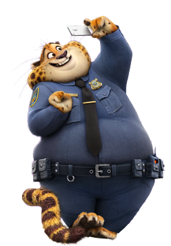 Zootropolis Clawhauser pose