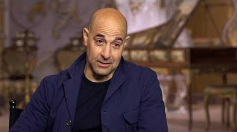 Beauty and the Beast Stanley Tucci Official Movie Interview