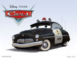 Cars Characters 07 Sheriff