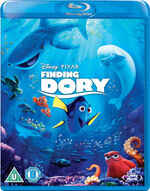 Finding Dory Blu-Ray UK