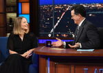 Jodie Foster visits Stephen Colbert