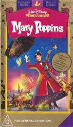 Mary Poppins 1998 AUS VHS