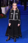 Meryl Streep Mary Poppins Returns European Premiere