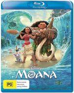 Moana 2017 AUS Blu Ray