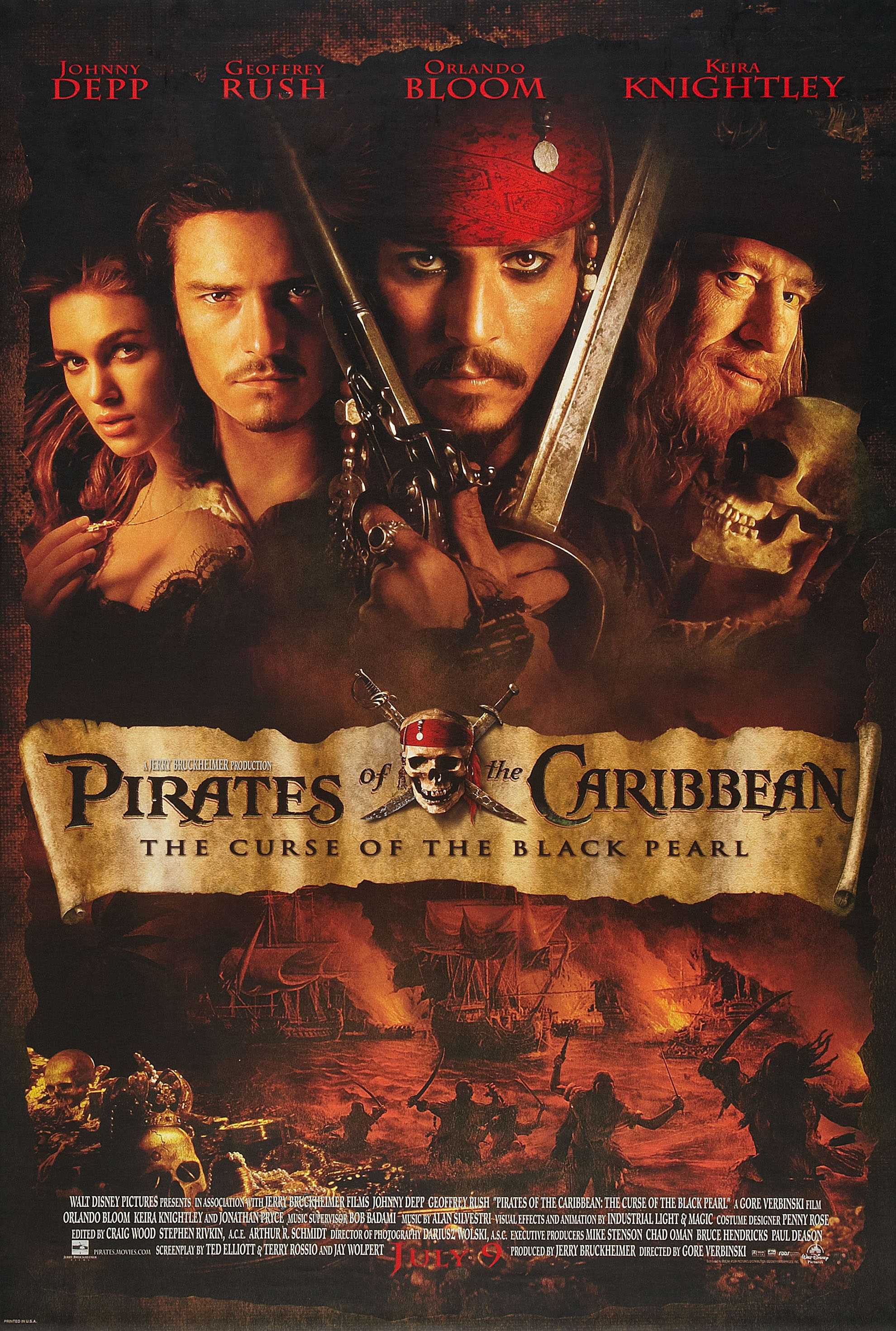 Pirates of the Caribbean: The Curse of the Black Pearl | Disney Wiki