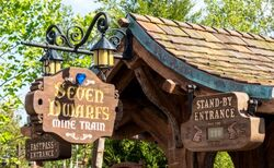 Seven Dwarfs Mine Train wdw