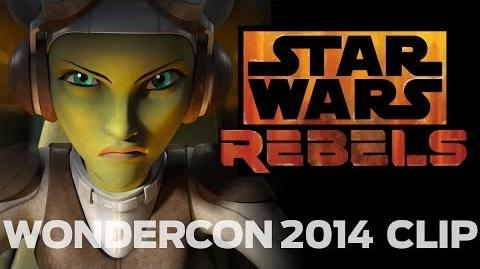 Star Wars Rebels WonderCon 2014 Exclusive Clip-0