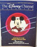 TheDisneyChannelMagazineMarchApril1989
