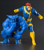 ArtFXPlus Beast and Cyclops 90s