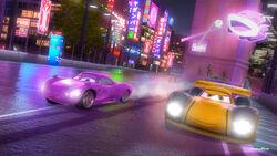 Cars tokyo sushi