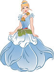 Cinderella Flower gown