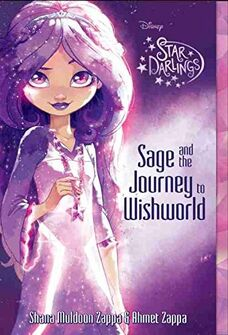 Disney's Star Darlings - Sage and the Journey to Wishworld - Book Cover