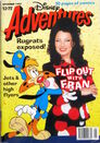 Disney Adventures Magazine australian cover November 1997 Fran Dreschner