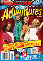 Disney Adventures Magazine cover May 2006 High School Musical