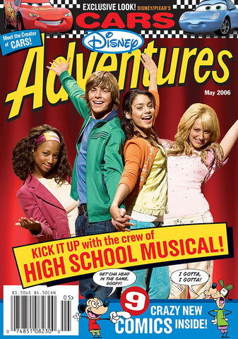 File:Disney Adventures Magazine cover May 2006 High School Musical.jpg