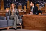 Jennifer Lopez visits Jimmy Fallon