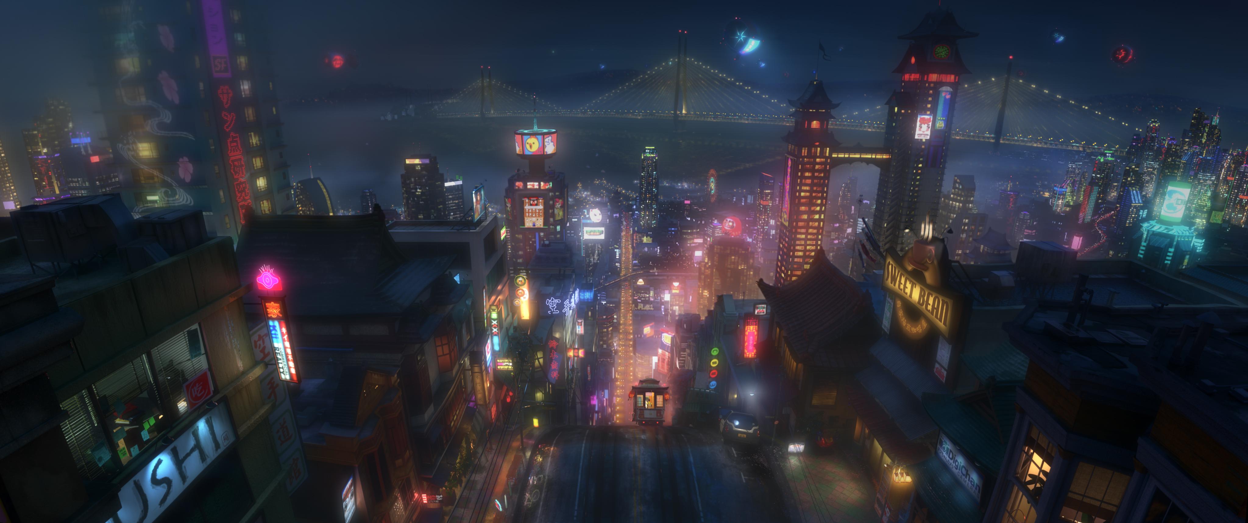 San Fransokyo | Disney Wiki | Fandom