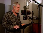 Ron Perlman behind the scenes Tangled