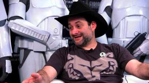 Star Wars Celebration Europe - Words with Warwick Dave Filoni