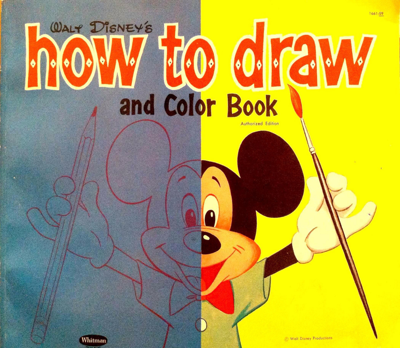 Image - Walt Disney\'s How to Draw and Color Book.jpg | Disney Wiki ...