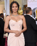 Zoe Saldana 87th Oscars