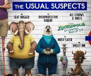 Zootropolis Underground Railway Promotion