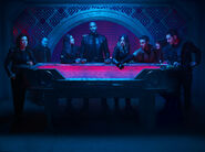Agents of S.H.I.E.L.D. - Season 6 - May, Sarge, Yo-Yo, Mack, Quake, Fitz, Simmons, Deke